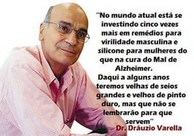 Relato do Dr. dráuzio Varella sobre o Mal de Alzheimer